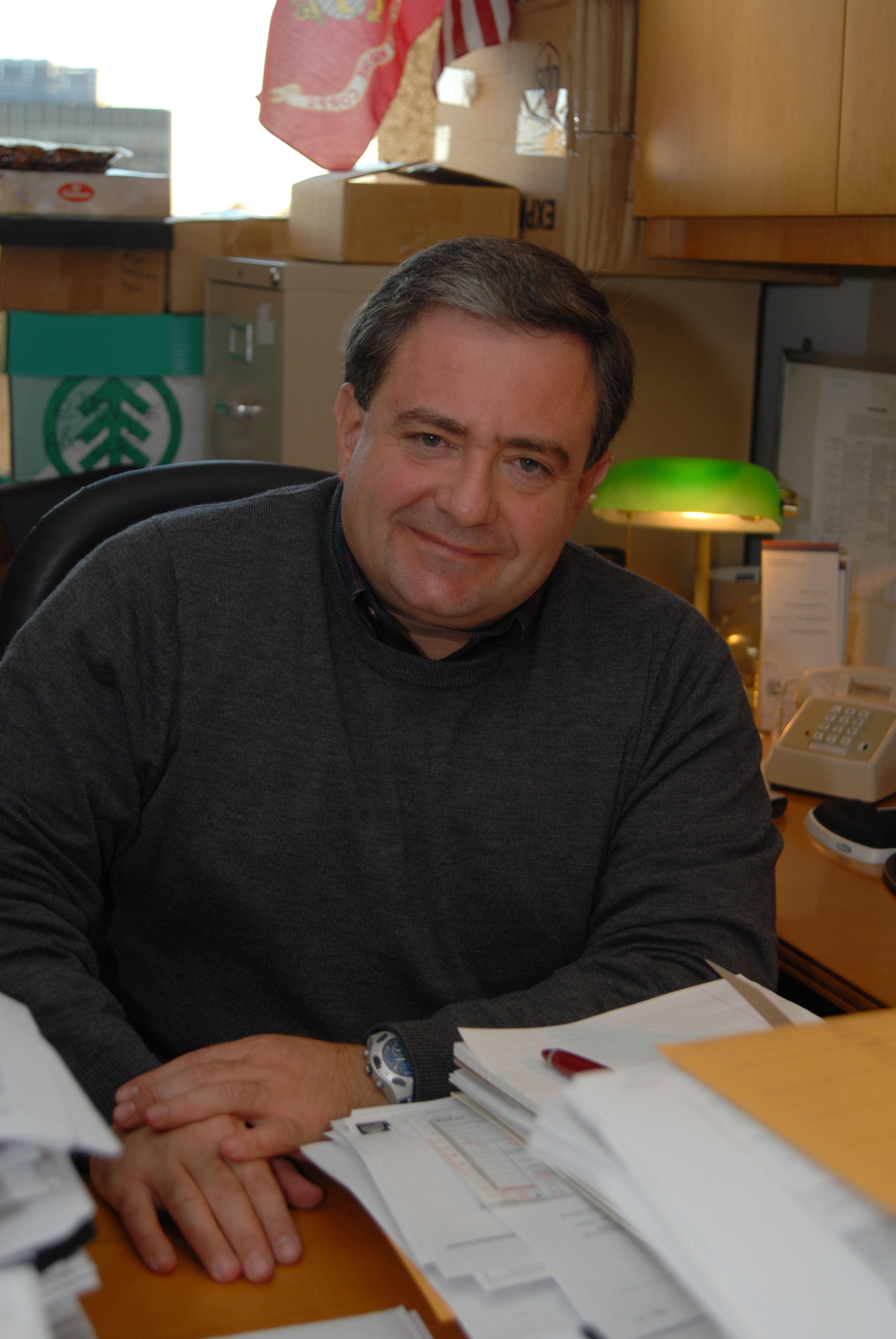 A profile-picture of Dr. Elias Carayannis, Dr. Elias G. Carayannis is Full Professor of Science, Technology, Innovation and Entrepreneurship at The George Washington University.